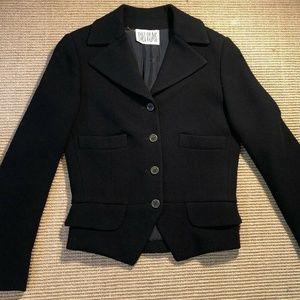 Vintage Bill Blass Women's Black Blazer Jacket